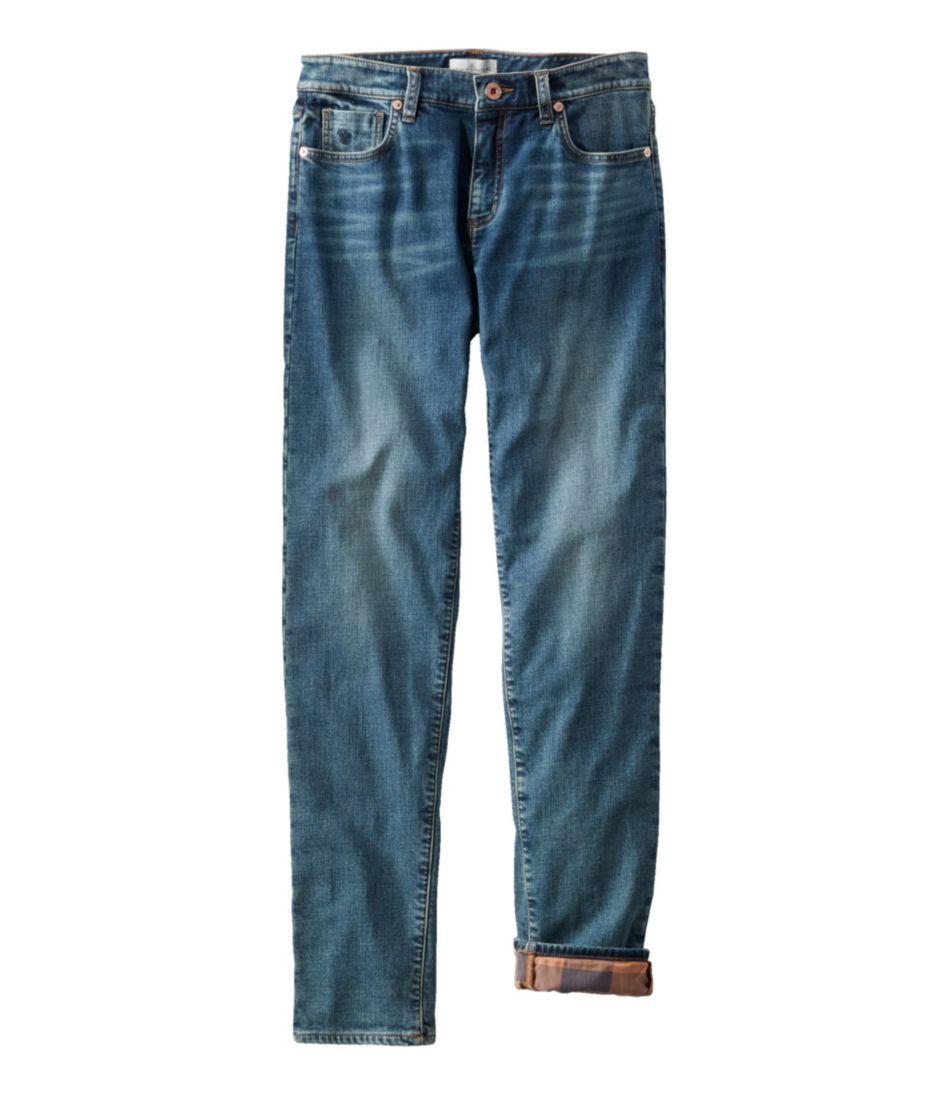 Signature Lined Boyfriend Jeans