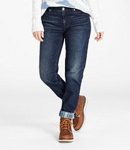 Women's Signature Lined Boyfriend Jeans
