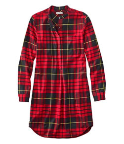 Signature Stretch Flannel Dress