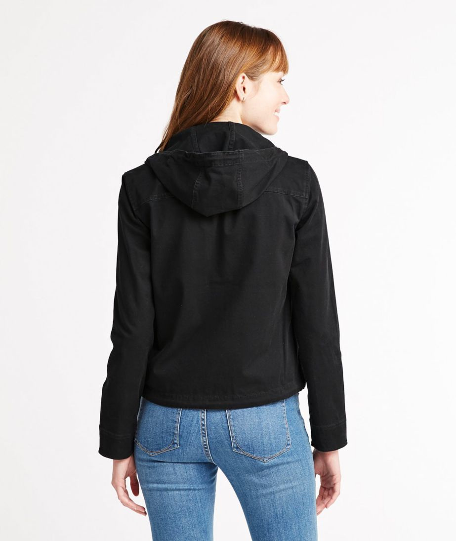 Signature Cropped Utility Hoodie