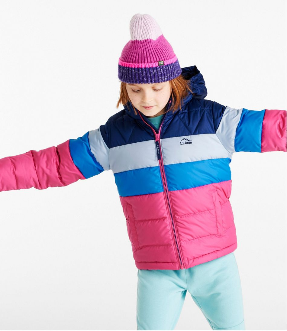 Kids' L.L.Bean Down Jacket, Colorblock