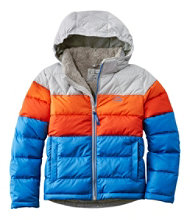Kids' L.L.Bean Down Jacket, Color Block