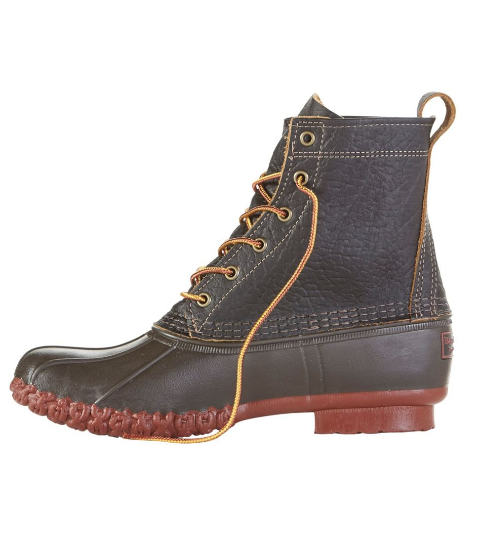 """Men's Small Batch L.L.Bean Boots, 8"""" Bison"""
