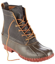 "Men's Small Batch L.L.Bean Boots, 8"" Bison"