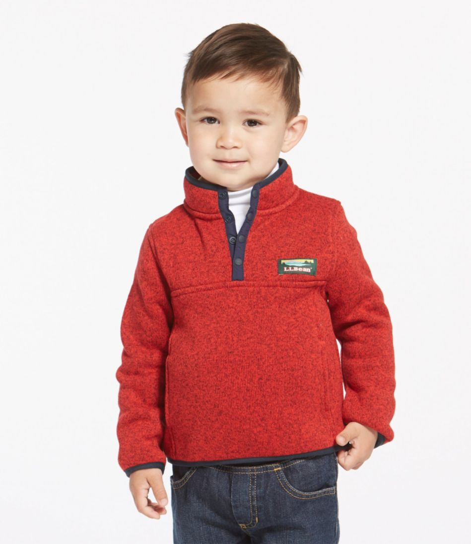 Toddlers' L.L.Bean Sweater Fleece, Pullover