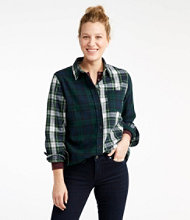 Scotch Plaid Shirt, Relaxed Colorblock
