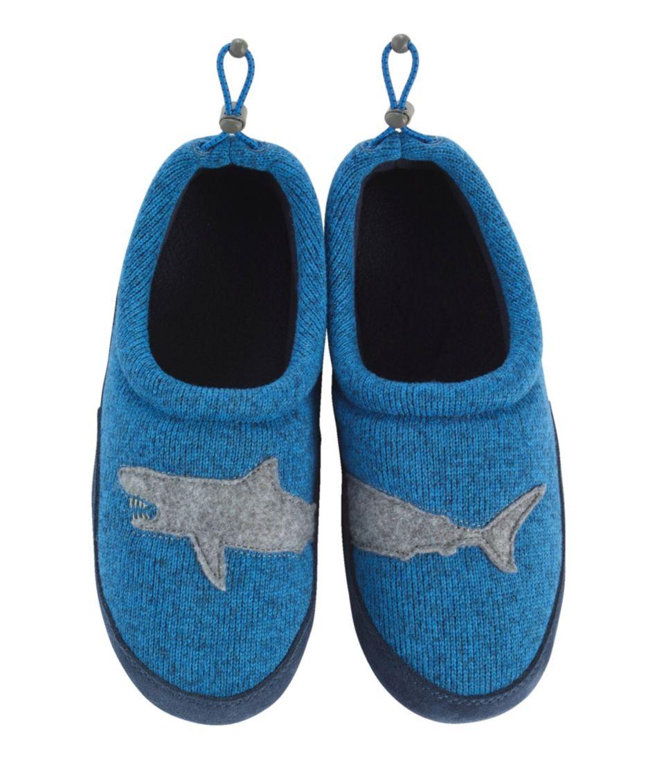 Kids' Sweater Fleece Slippers, Motif