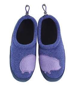 Kids' Sweater Fleece Slippers, Motif