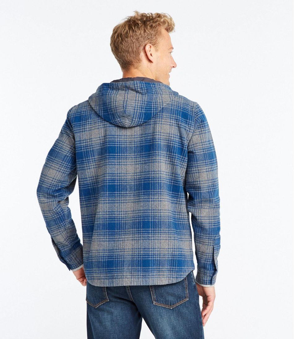 Signature 1933 Chamois Cloth Shirt, Long-Sleeve Hooded