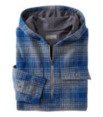Men's Signature 1933 Chamois Cloth Shirt, Long-Sleeve Hooded