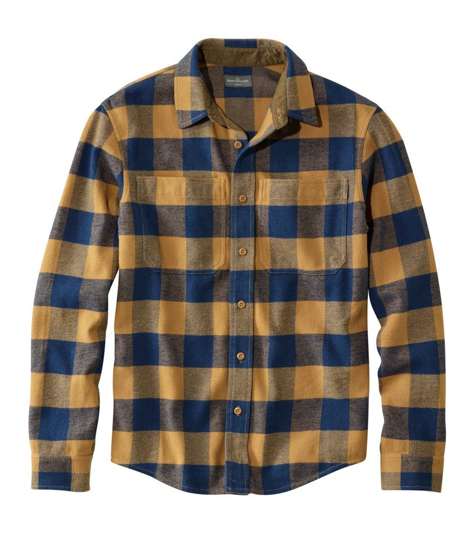 Signature Washed Twill Shirt, Long-Sleeve