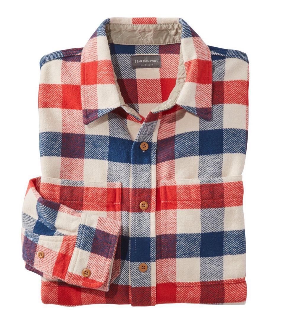Signature Washed Twill Shirt, Long-Sleeve