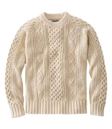 Men's Signature Cotton Fisherman Sweater