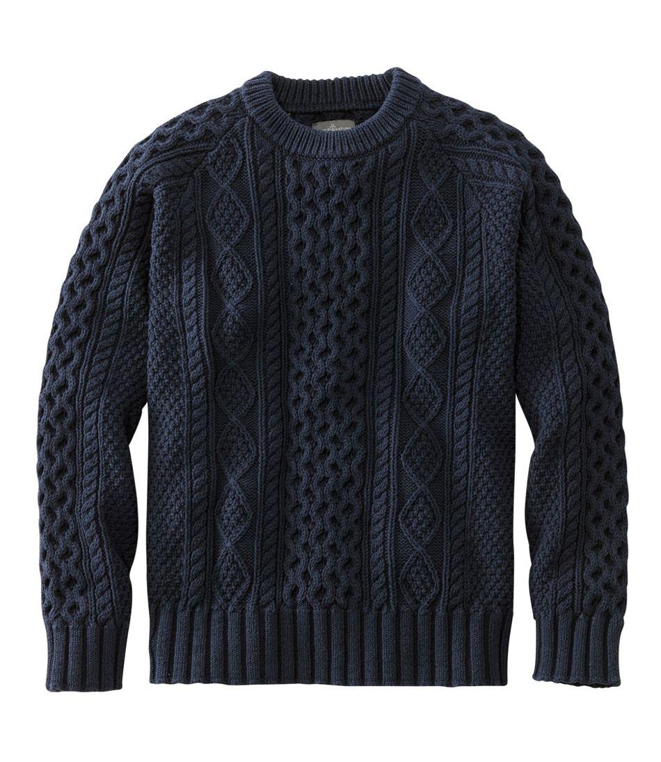 Men's Signature Cotton Fisherman Sweater