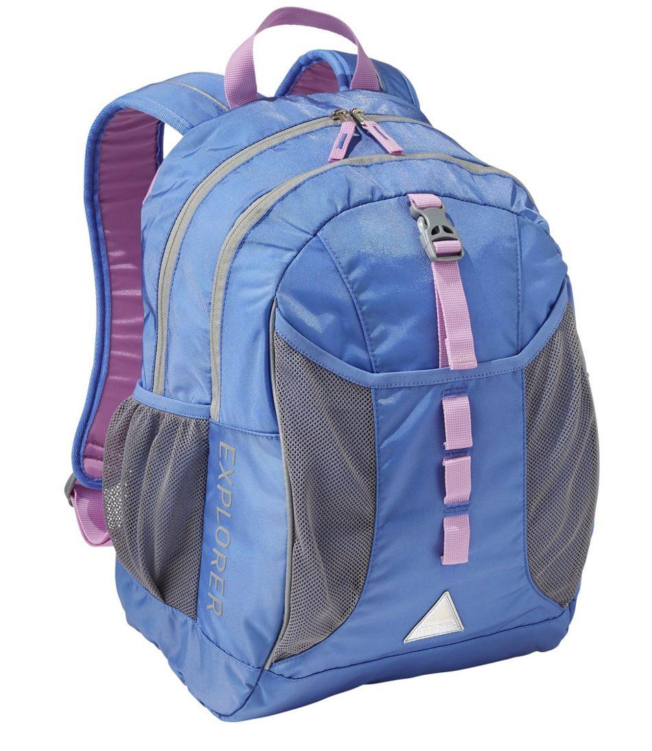 L.L.Bean Explorer Backpack, Colorblock