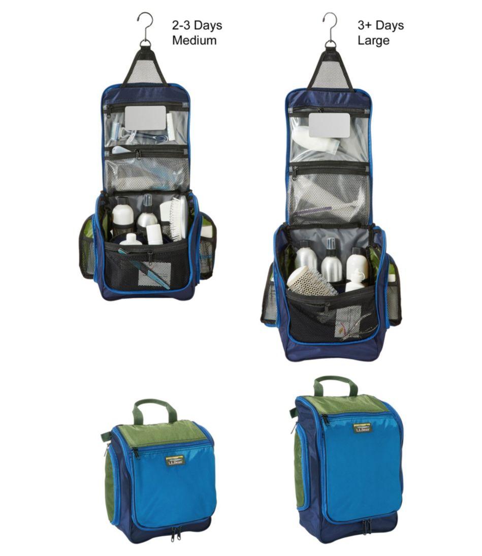 Personal Organizer Toiletry Bag, Tri-Color Medium