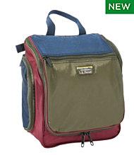 Personal Organizer Toiletry Bag Tri Color Medium