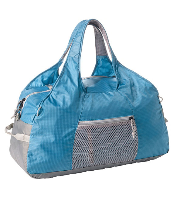 L.L.Bean Stowaway Duffle Bag, Gulf Blue/Katahdin, large image number 0