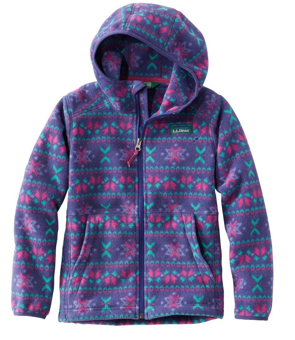 Kids' Mountain Classic Fleece, Hooded, Print