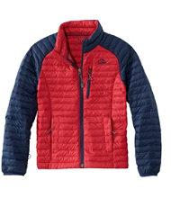 Boys' Ultralight Down Sweater, Colorblock