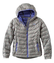 Girls' Ultralight Down Jacket, Print