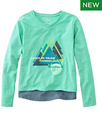 Girls' Pathfinder Tee, Long-Sleeve, Graphics