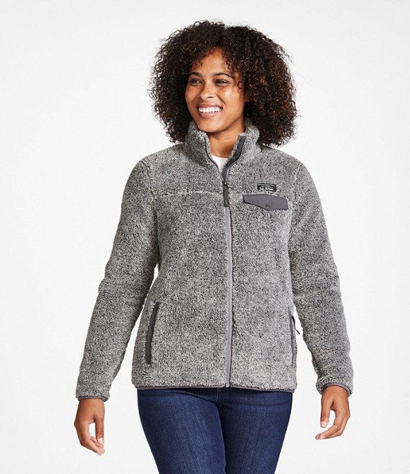 Hi-Pile Fleece Jacket, Full-Zip, , large image number 1