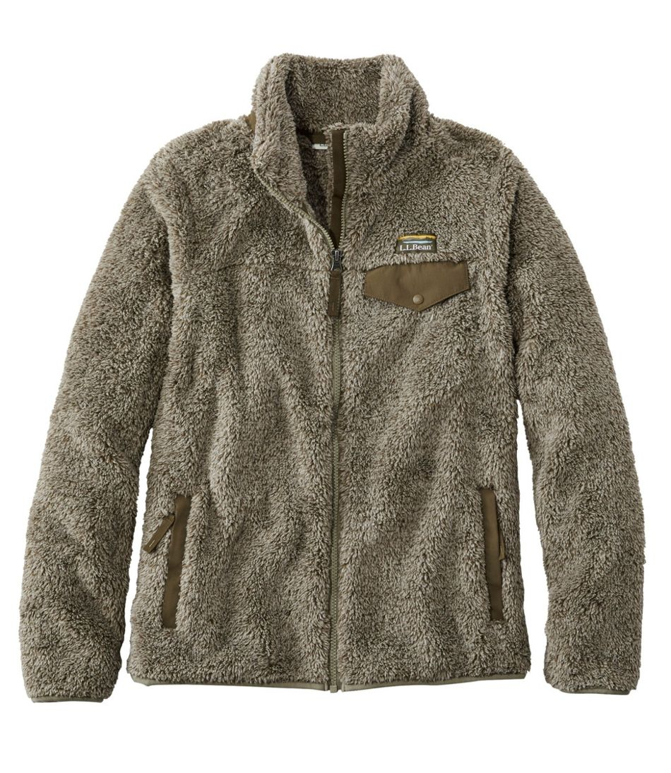Women's L.L.Bean Hi-Pile Fleece Jacket