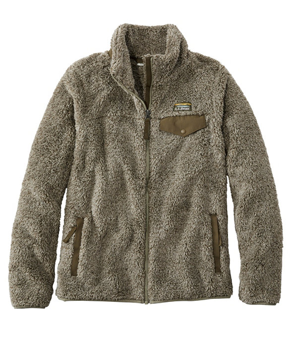 Hi-Pile Fleece Jacket, Full-Zip, , large image number 0