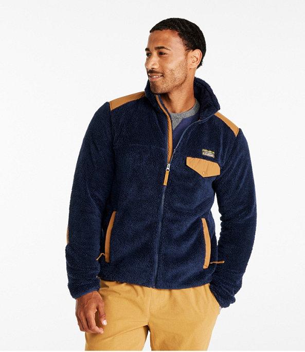 Hi-Pile Fleece Jacket, Full Zip, , large image number 1