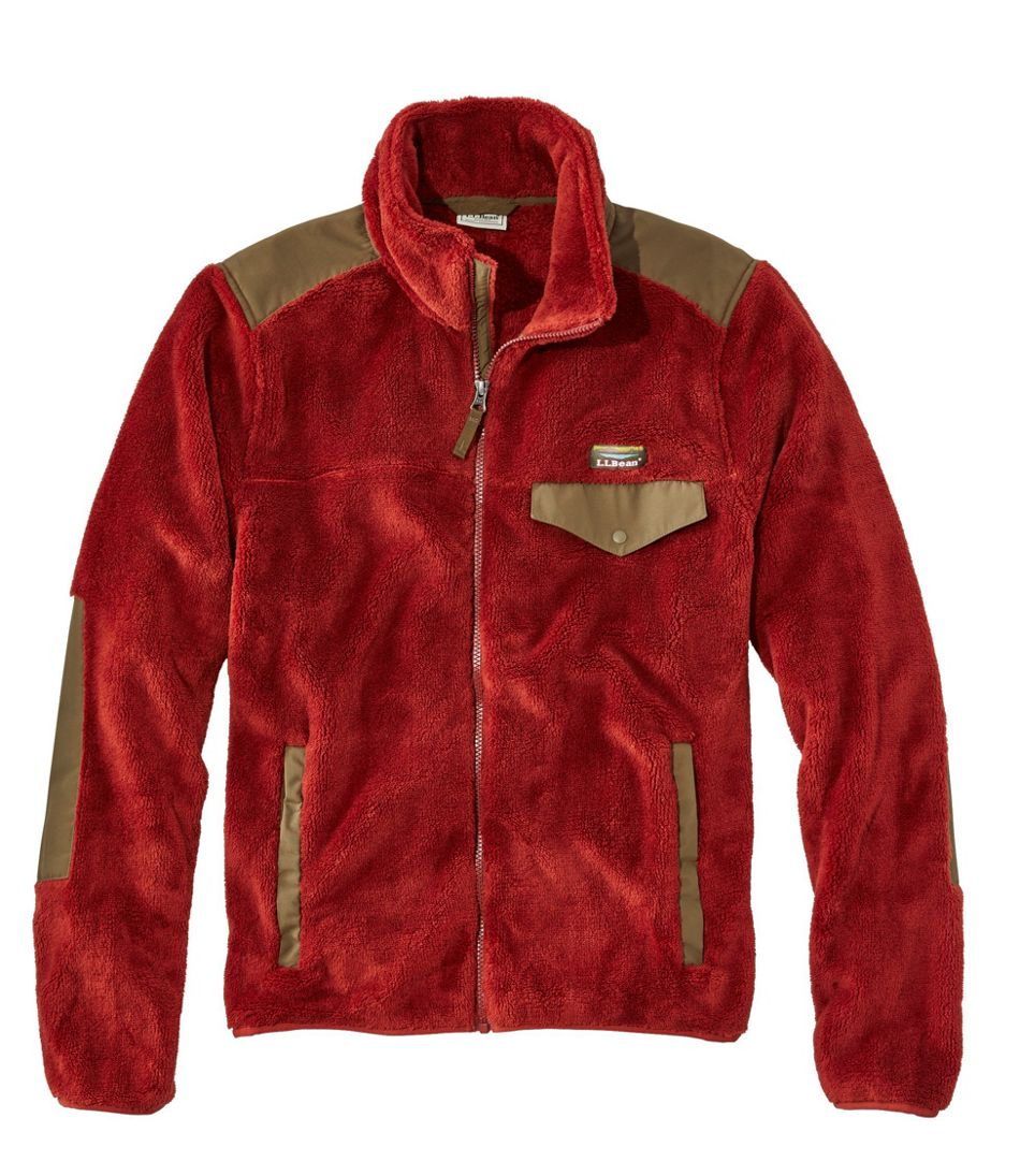 Men's L.L.Bean Hi-Pile Fleece, Jacket