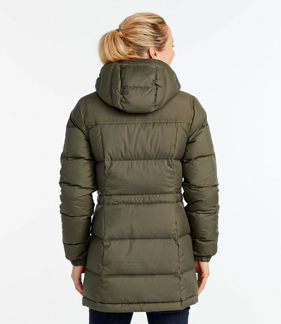 Green Down Parka Women'S