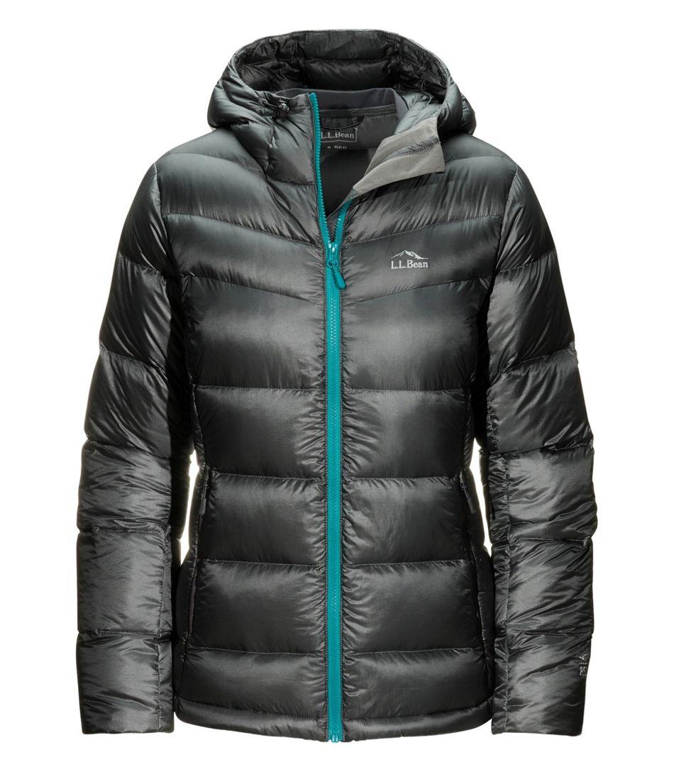 Women's Ultralight 850 Big Baffle Hooded Puffer Jacket
