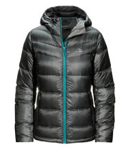 Women's Ultralight 850 Big Baffle Hooded Puffer Jacket