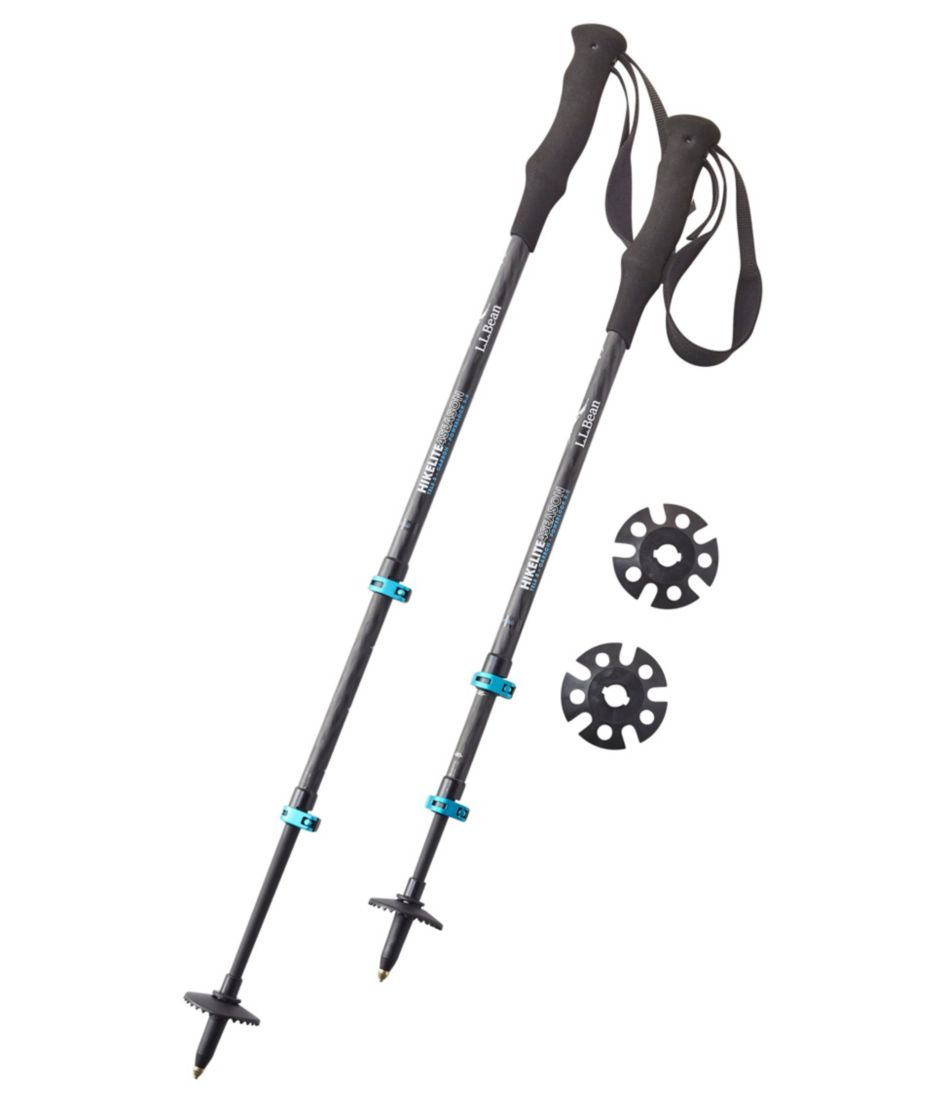 Women's Hikelite 4 Season Carbon Compact Hiking Poles