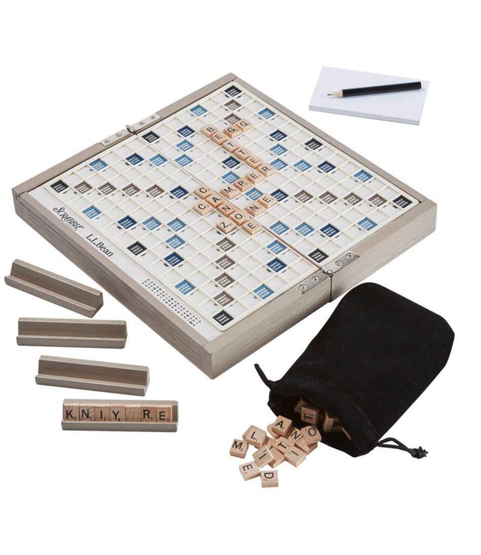 L.L.Bean Compact Scrabble