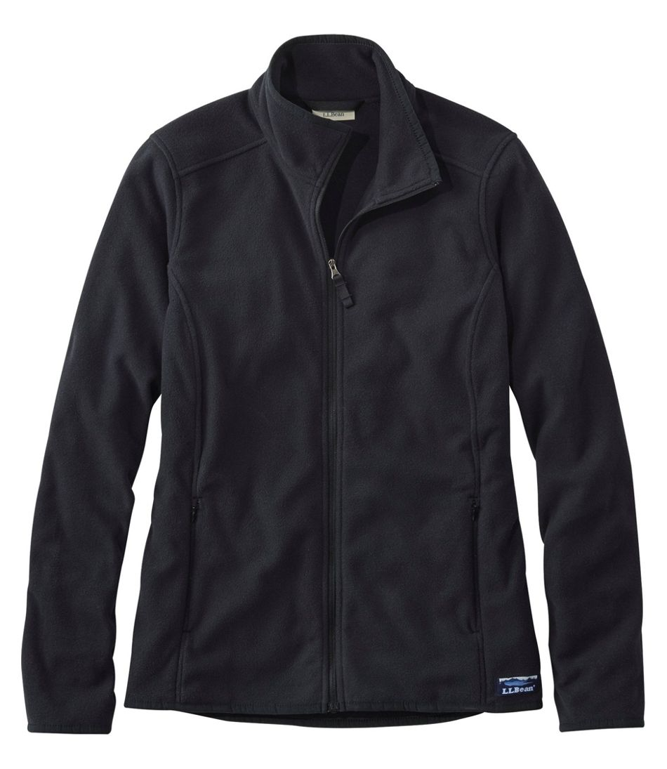 Soft-Brushed Fitness Fleece Zip-Pocket Jacket