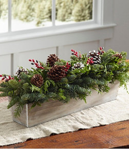 Woodland Berry Runner Centerpiece