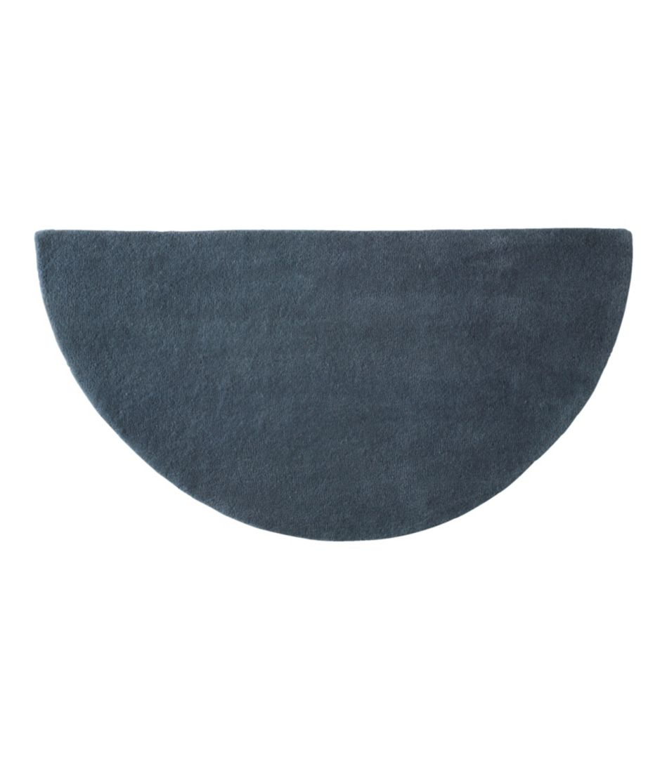 Wool Hearth Rug, Crescent