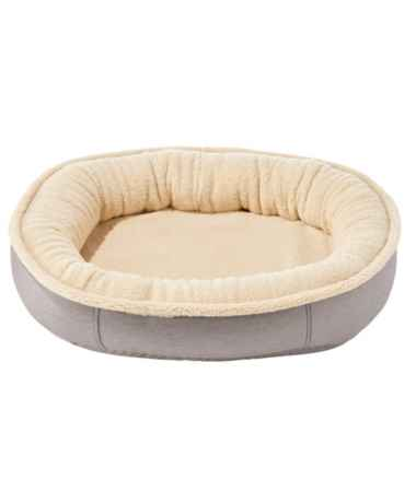 Premium Oval Bolster Dog Bed