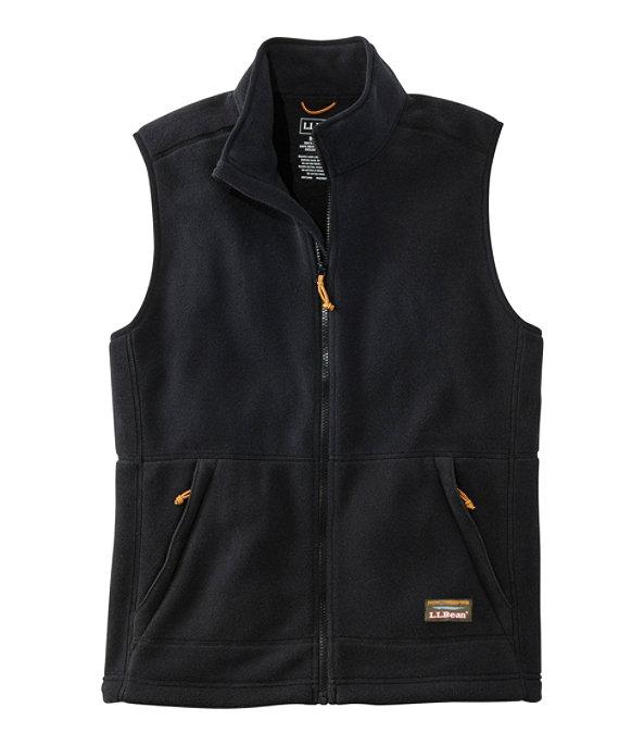 Mountain Classic Fleece Vest, Black, large image number 0
