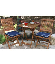 Outdoor Wooden Bistro Set