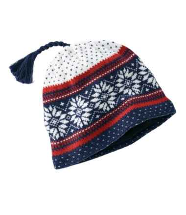 Adults' L.L.Bean Nordic Ski Hat, Print