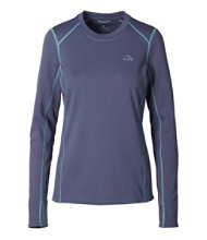Women's L.L.Bean Heavyweight Baselayer Crew, Long Sleeve