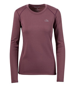 Women's L.L.Bean Heavyweight Base Layer Crew, Long Sleeve
