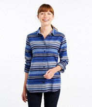Bean's Organic Flannel Tunic, Stripe