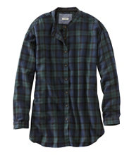 Rangeley Flannel Tunic, Plaid