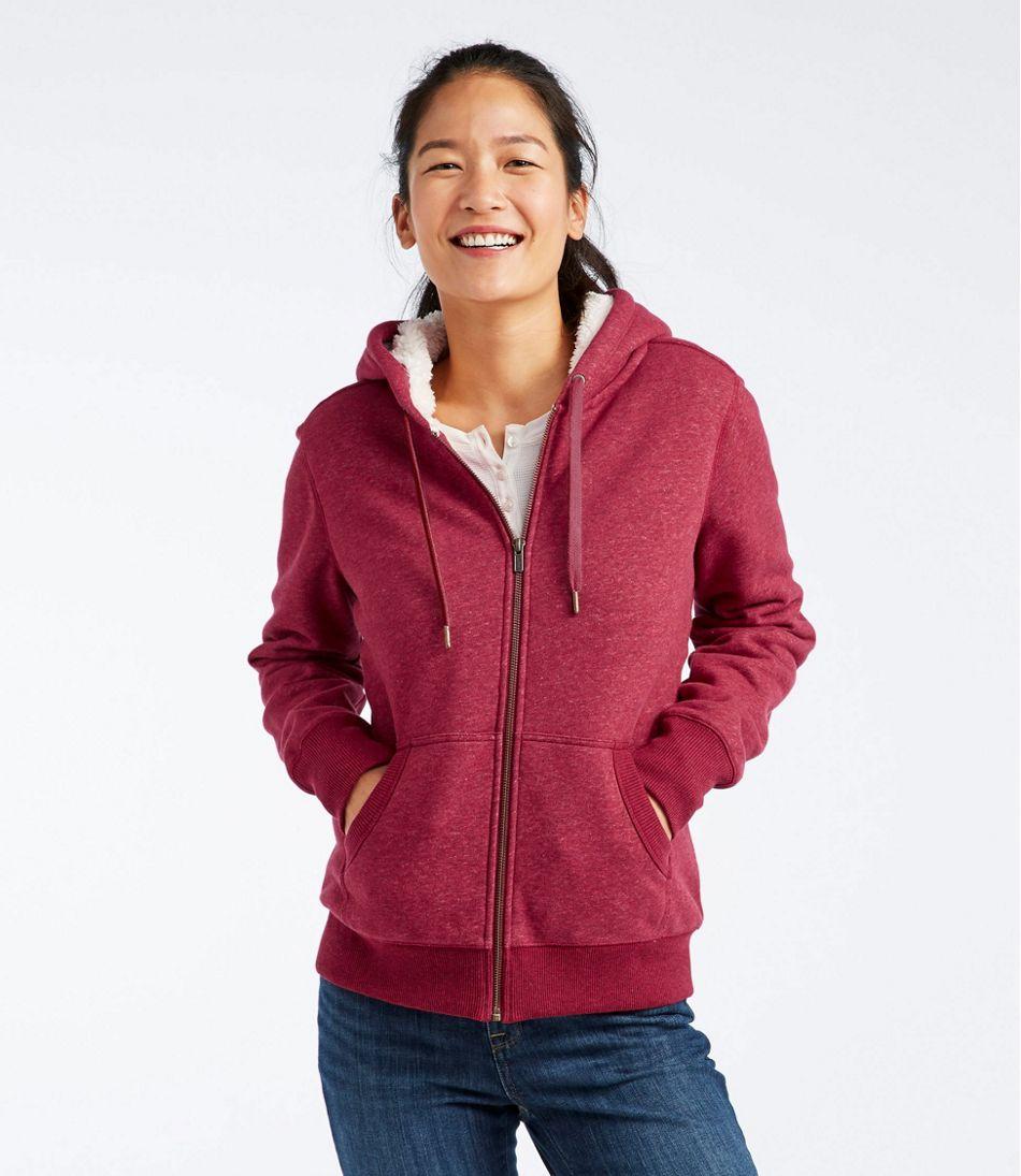Women's Sherpa-Lined Hoodie