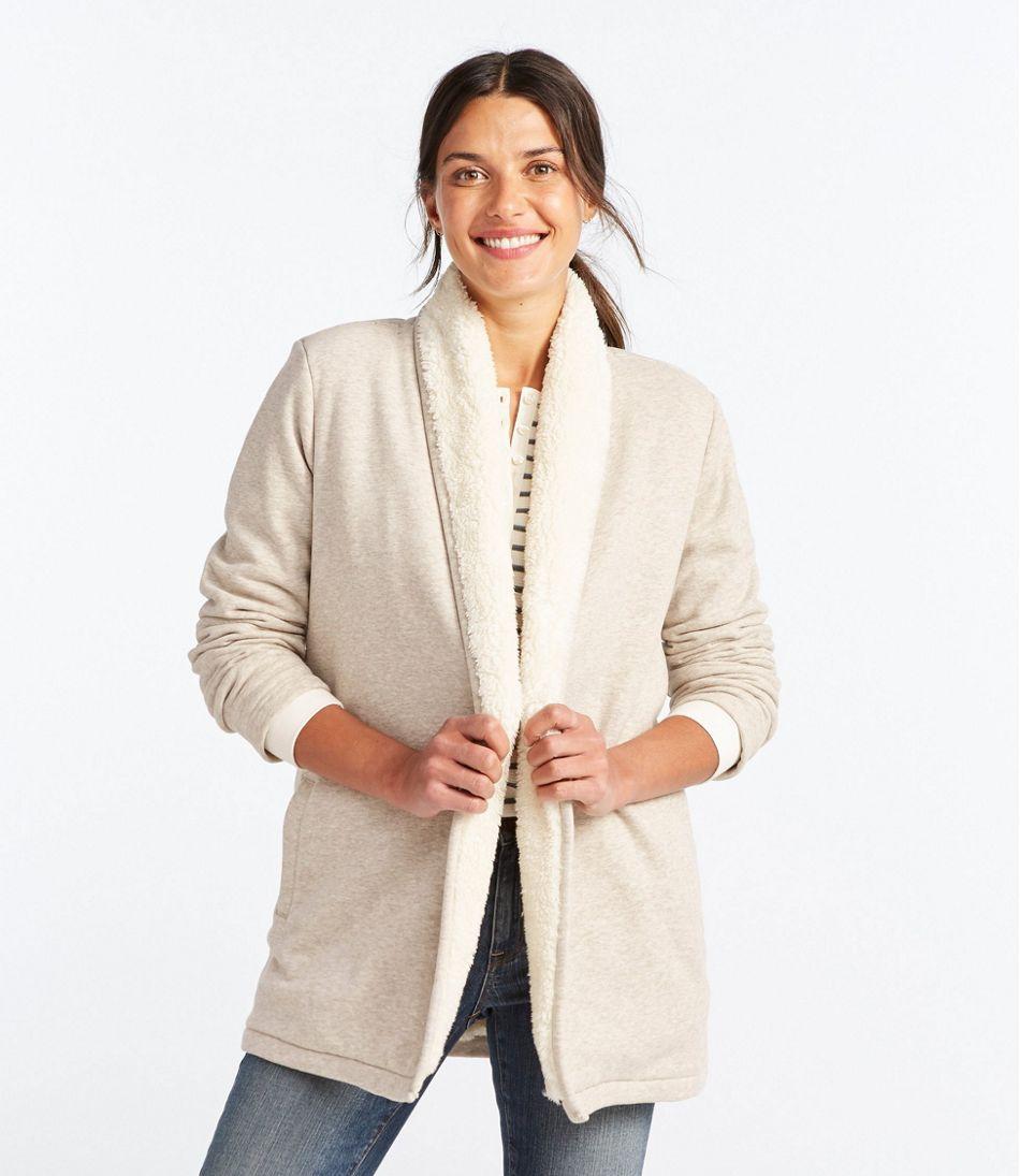 Women's Sherpa-Lined Cozy Cardigan