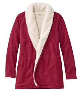 Women's Sherpa-Lined Cozy Cardigan